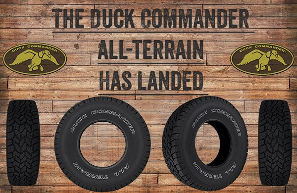 Duck Commander Tires in Lake Butler, FL